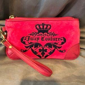Juicy Couture wristlet, excellent condition.
